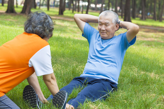 Regular Exercise Helps COPD