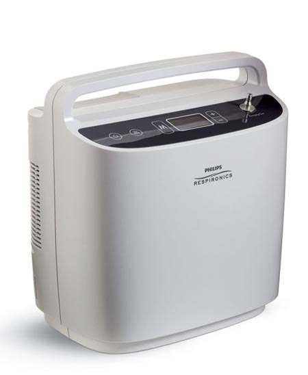 Oxygen Solutions Respironics SimplyGo 5 Oxygen Concentrator